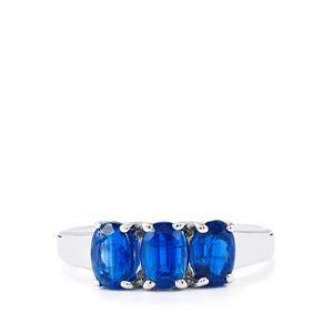 2.07ct Daha Kyanite Sterling Silver Ring
