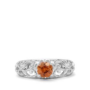 0.93ct Tanga Zircon Sterling Silver Ring