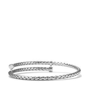 Sterling Silver Adustable Regato Bangle 8.15g