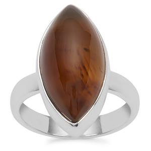 Montana Agate Ring in Sterling Silver 11.29cts