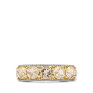 1.40ct Ouro Preto Imperial Topaz 9K Gold Ring