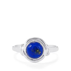 Lapis Lazuli Ring in Sterling Silver 1.62cts