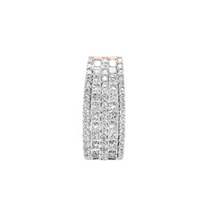 3/4ct Diamond 18K Gold Tomas Rae Pendant