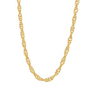 """20"""" Midas Classico Slider Prince Of Wales Chain 1.46g"""