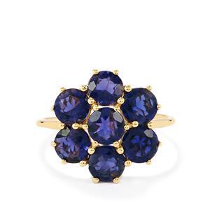 Orissa Iolite Ring  in 10k Gold 2.80cts