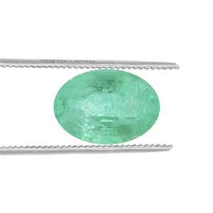 Siberian Emerald Loose stone  0.70ct