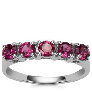 Octavian Garnet Ring in Sterling Silver 1.29cts