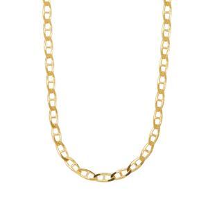 "18"" Midas Tempo Diamond Cut Mariner Chain 3.78g"
