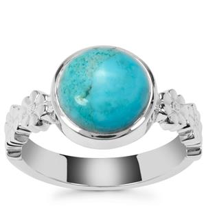 Sonora Turquoise Ring in Sterling Silver 2.93cts