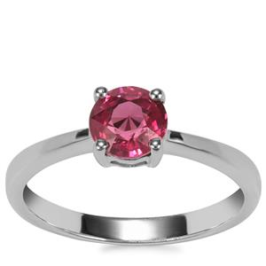 Malawi Garnet Ring in Sterling Silver 1.10cts