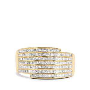 1ct Diamond 18K Gold Lorique Ring