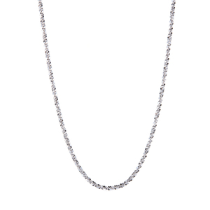 """26"""" Sterling Silver Couture Tocalle Chain 4.01g"""