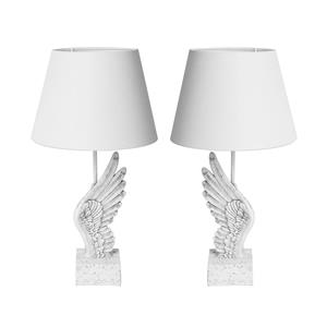 Guardian Angel Collection - Angel Wing Table Lamp with Quartz ATGW 25.9cts