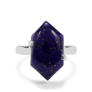 11.34ct Sar-i-Sang Lapis Lazuli Sterling Silver Aryonna Ring