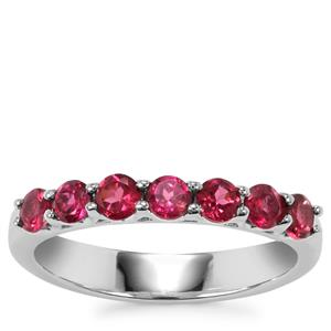 Tocantin Garnet Ring in Sterling Silver 1.03cts