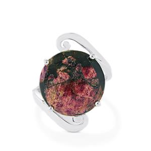 Eudialyte Ring in Sterling Silver 12cts