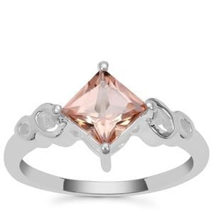 Galileia Topaz Ring in Sterling Silver 1.34cts
