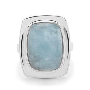 11ct Aquamarine Sterling Silver Aryonna Ring