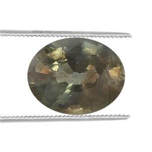 Nigerian Green Sapphire Loose stone  0.23ct