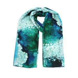 100% Recycled Polyester digital printed Scarf