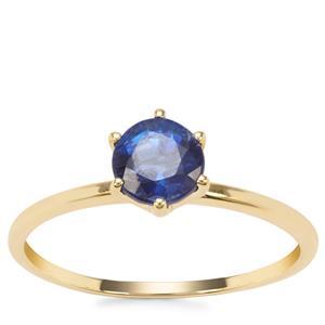 Nilamani Ring in 9K Gold 1.06cts