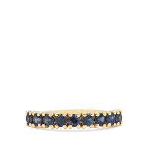 1.07ct Australian Blue Sapphire 9K Gold Ring