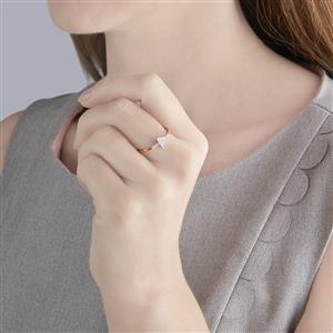 Diamond Ring in 9K Rose Gold 1/20ct