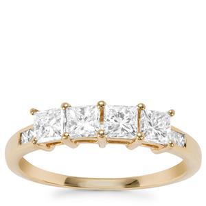 Diamond Ring in 18K Gold 1ct