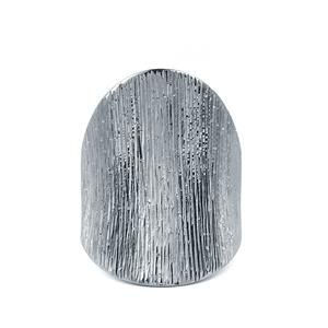 Black Rhodium Plated Sterling Silver Starlight Viorelli Ring
