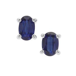 Nilamani Earrings in Sterling Silver 1.17cts