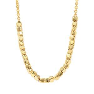 """18"""" Midas Altro Sliding Silver Beads Necklace 4.37g"""