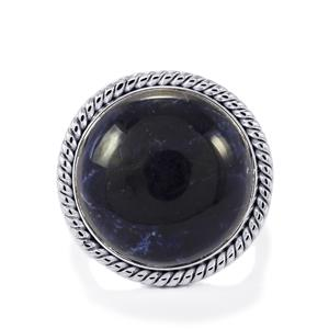 American Sodalite Ring in Sterling Silver 14.80cts