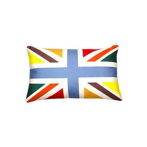 Cotton Rainbow Union Cushion Cover (30x50cm)