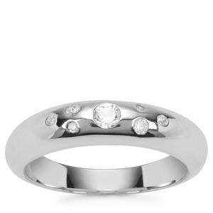 Ratanakiri Zircon Ring in Sterling Silver 0.28ct
