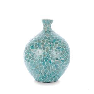 Santorini Mother of Pearl Vase