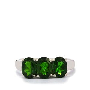 Chrome Diopside Ring in Sterling Silver 2.79cts