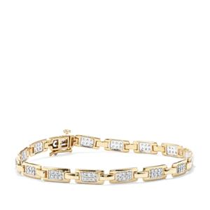 1ct Argyle Diamond 9K Gold Tomas Rae Bracelet