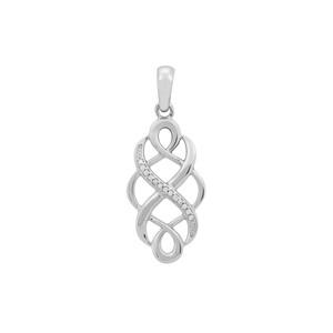 0.09ct Ratanakiri Zircon Sterling Silver Pendant