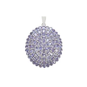 Tanzanite Pendant in Sterling Silver 14.29cts