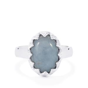 Angelite Ring in Sterling Silver 5.76cts
