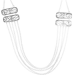 Sterling Silver Bayeux Necklace 11.84g