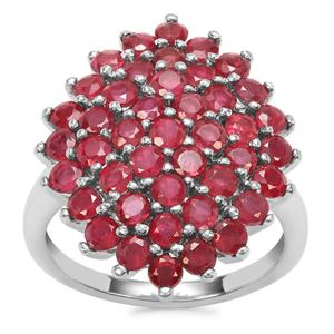 Malagasy Ruby Ring in Sterling Silver 4.43cts (F)