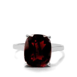 6.15ct Octavian Garnet Sterling Silver Ring