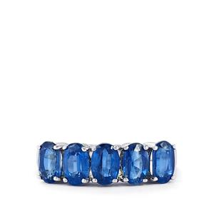 Himalayan Kyanite Ring in Sterling Silver 3cts