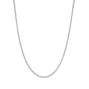 """16/18"""" Sterling Silver Classico Prince of Wales Chain 1.90g"""