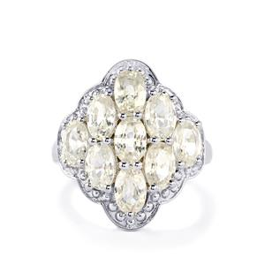 6.77ct Singida Tanzanian Zircon Sterling Silver Ring