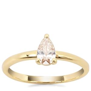 Natural Fancy Diamond Ring in 18K Gold 0.54ct