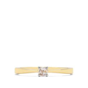 1/10ct Diamond 18K Gold Tomas Rae Ring
