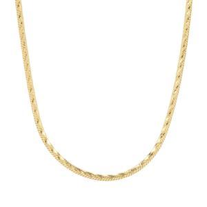 "18"" Midas Tempo Diamond Cut Snake Chain 3.79g"