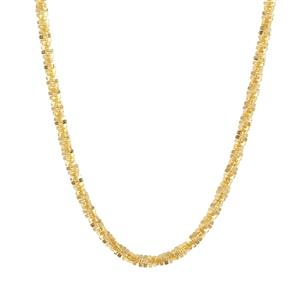 "24"" Midas Coloured Rocks Diamond Cut Millennium Slider Chain 4.60g"